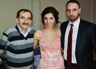 Gazeteci Halit Çelik'in mutlu günü
