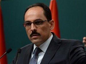 Ak Saray'da bir ilk: Cumhurbaşkanlığı Sözcüsü İbrahim Kalın basın açıklaması yaptı