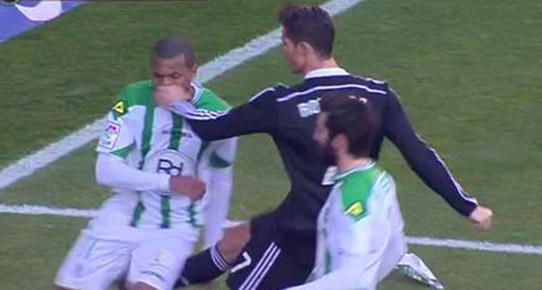 Ronaldo'ya 2 maç ceza