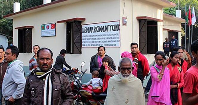 TİKA Bangladeş'te Sağlık Ocağı açtı