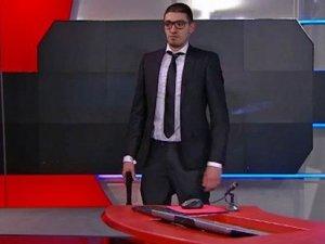 Hollanda'da televizyon kanalına silahlı baskın
