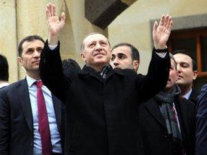 Cumhurbaşkanı Erdoğan, Ak Parti için oy istedi!