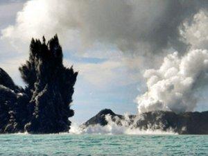 Dünyanın en genç adası böyle görüntülendi