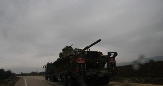 Tanklar Suriye Sınırına gönderildi
