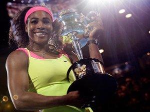 Zaferin adını Serena Williams