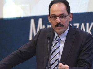 Cumhurbaşkanlığı Sözcüsü'nden Sarkisyan'a yanıt