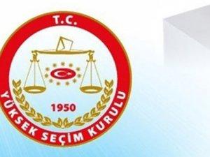 7 Haziran'da yapılacak seçimler katılacak partiler belirlendi