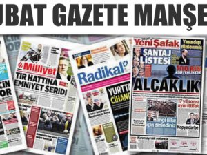 01 Mart Gazete Manşetleri