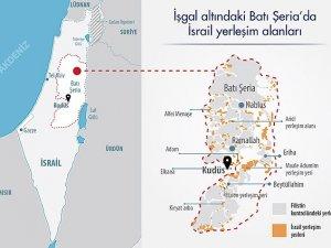 """İsrail Filistin'e """"yerleşmeye"""" devam ediyor"""