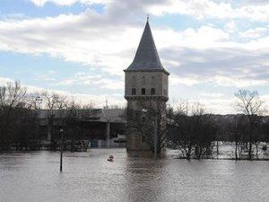 Edirne'de son durum: 5 bin kişi sular altında kaldı