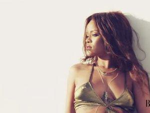 Rihanna'dan tehlikeli poz