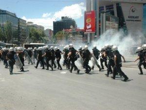 Ankara'da Berkin Elvan eylemine sert müdahale