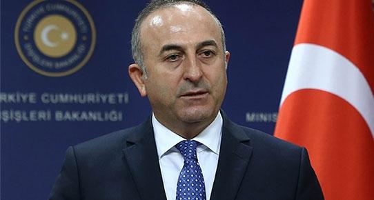 Bakan Çavuşoğlu, 'İsrailliler var' diyerek sunumdan vazgeçti