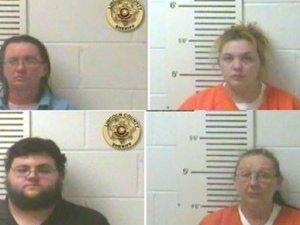 Kendi çocuklarını silah zoruyla kaçırdılar!
