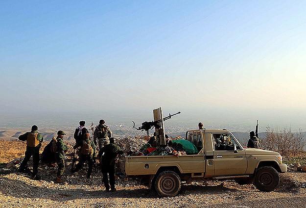 Musul kentinde ki operasyonda 100 ışid militanı öldürüldü