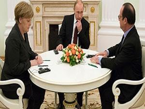 Ukrayna Krizi'ne çözüm bulamadılar