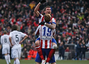 Atletico Madrid, Real Madrid'i bozguna uğrattı