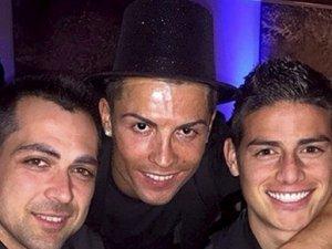 Ronaldo'dan olay parti