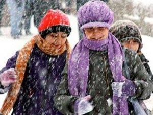 Erzurum'da okullara kar tatili