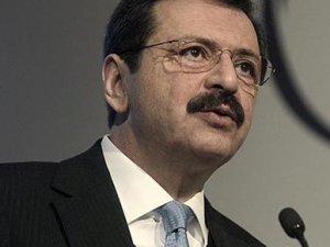 TOBB Başkanı Rifat Hisarcıklıoğlu'dan Erdem Başçı'ya destek