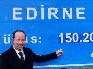 Edirne'de ikametini taşıyana 120 lira hediye!