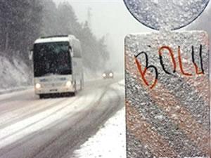 Bolu Dağı ulaşıma kapandı