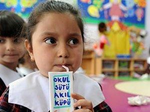 Okul sütünü istemediler