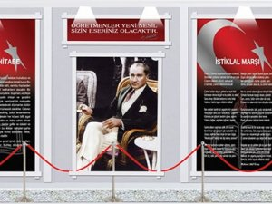 Atatürk köşesi geri dönüyor