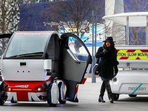 İngiltere'de sürücüsüz otomobiller tanıtıldı