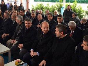 Bilal Erdoğan, TÜRGEV'in açılış törenine katıldı