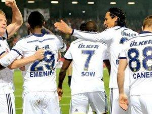 Fenerbahçe'den 5 gol sevinci