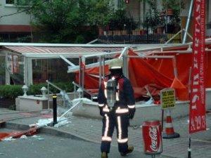 Kadıköy'de korkunç patlama