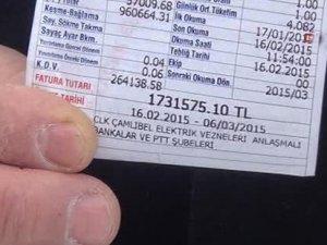 Tokatlı mobilyacıya 'Ak Saray faturası' kesildi