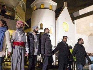 Danimarka'da ırkçılığa karşı dayanışma devam ediyor
