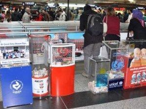 Atatürk Havalimanı'nda KAÇUV'un parasını çaldılar