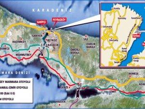 Kuzey Marmara Otoyolu Projesi bağlantı yolları ihaleleri ertelendi