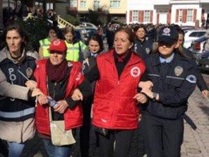 Disk Genel Sekreteri Arzu Çerkezoğlu gözaltına alındı