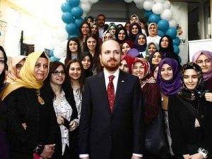 TÜRGEV'in açılışında Bilal Erdoğan'a yoğun ilgi