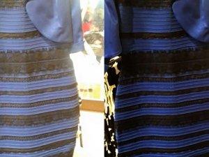 Tüm dünyanın konuştuğu elbise aslında ne renk?
