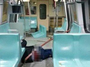 Metroda kalçasına demir saplanan güvenlik görevlisi işe alınınca şikayetinden vazgeçti