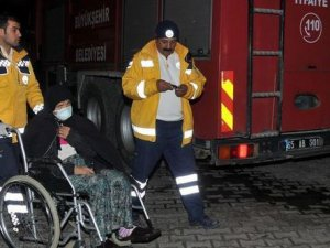 Van'da hastanede yangın