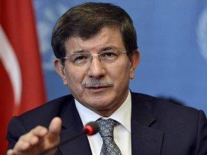 Başbakan Davutoğlu'ndan silah bırakma açıklaması