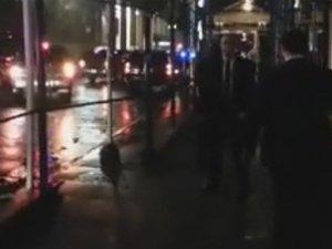 Başbakan Davutoğlu, New York'ta protesto edildi