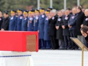 Konya'da şehit olan askerler, son yolculuğuna uğurlandı