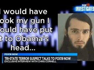 Canlı yayında Obama'ya tehdit