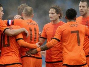 Hollanda Milli Takım kadrosu açıklandı