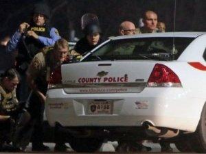 Ferguson'da çatışma çıktı