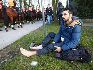 Belçika'da Türk Gazeteci'ye saldırdılar!