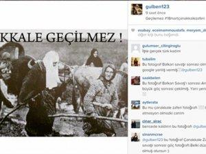 Gülben Ergen'den Çanakkale Zaferi gafı