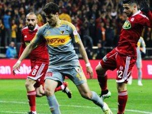 Kayserispor Sivasspor Maçı Sonucu: 1-1 Türkiye Kupası